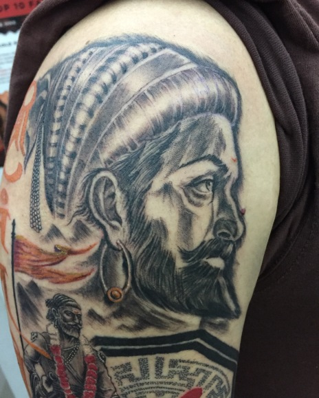 Maratha Warrior Tattoo